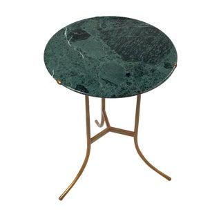 Round Verde Issorie Marble Gueridon by Cedric Hartman