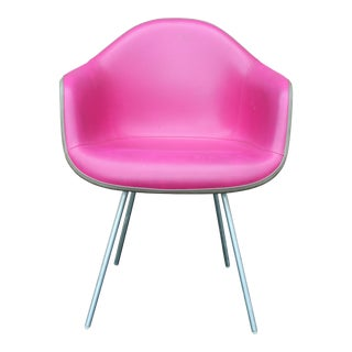 Eames Herman Miller Pink Arm Shell Chair