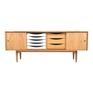Arne Vodder Inspired Danish Made Oak Sideboard