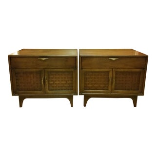Warren Church for Lane Perception Nightstands - a Pair