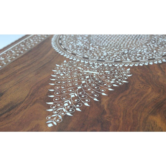 Vintage Bone Inlay Coffee Table - Image 8 of 8