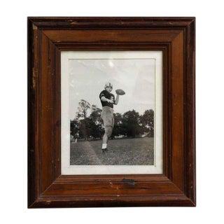 Vintage West Point Football Framed Portrait