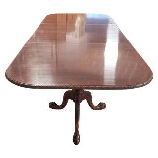 12' Mahogany Dining Table