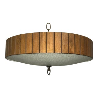 Midcentury Flush Mount Lamp