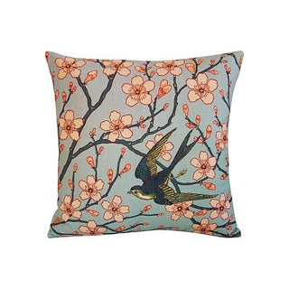 Magnolia & Sparrow Pillow