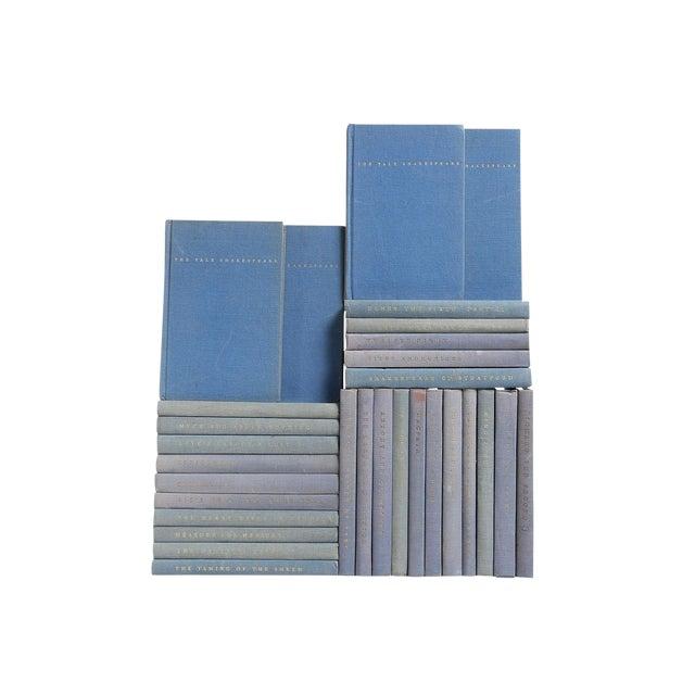 Image of Blue Pocket-Sized Shakespeare Books - Set of 30