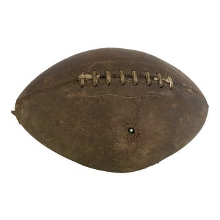 Vintage Distressed Leather Football