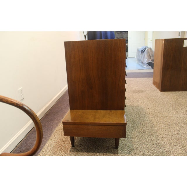 Image of Mid Century Modern Floating Top Credenza #2