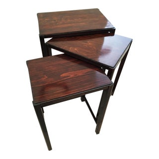 Beechwood Nesting tables by Thonet, 1930 - Set of 3