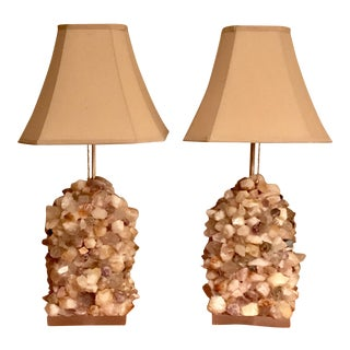 Quartz Table Lamps -Carole Stupell Style- Contemporary