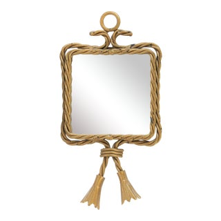 Twin Tassel Bevelled Mirror