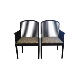 Stendig Andover Brown Armchairs - A Pair