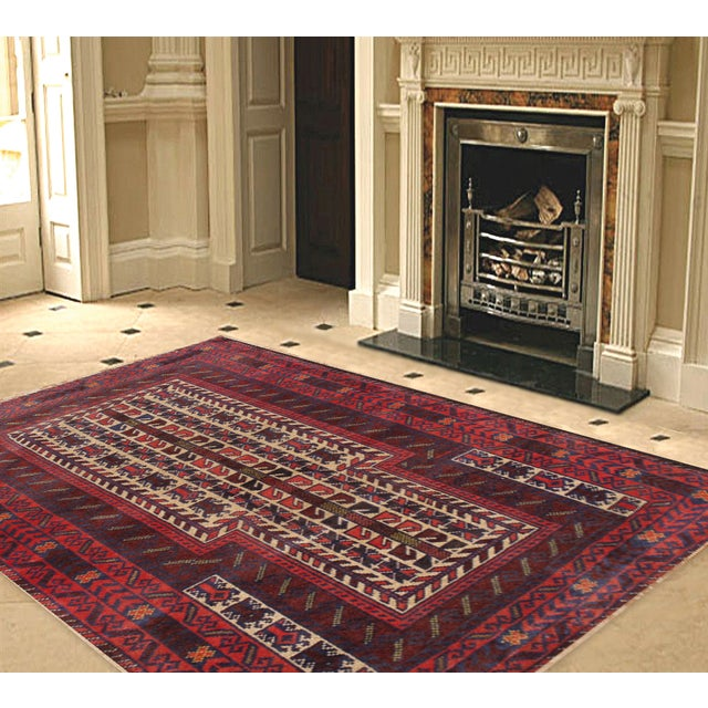 "Pasargad Balouch Collection Rug - 2'2'9"" X 4'6"" - Image 2 of 2"
