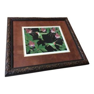 Dan Goad Hummingbird Framed Print