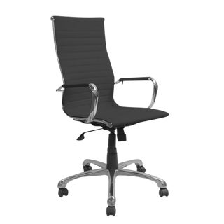 Black High-Back Conference Chair