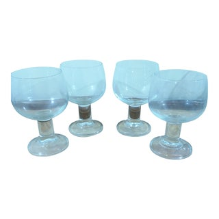 Vintage French Water Glasses - Set of 4
