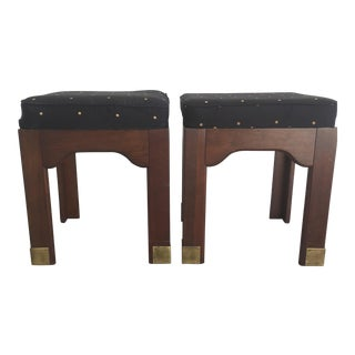 Pennsylvania House Campaign Stools - A Pair