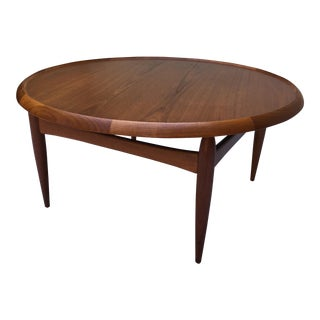 Ejvind Johansson Coffee Table with Reversible Top
