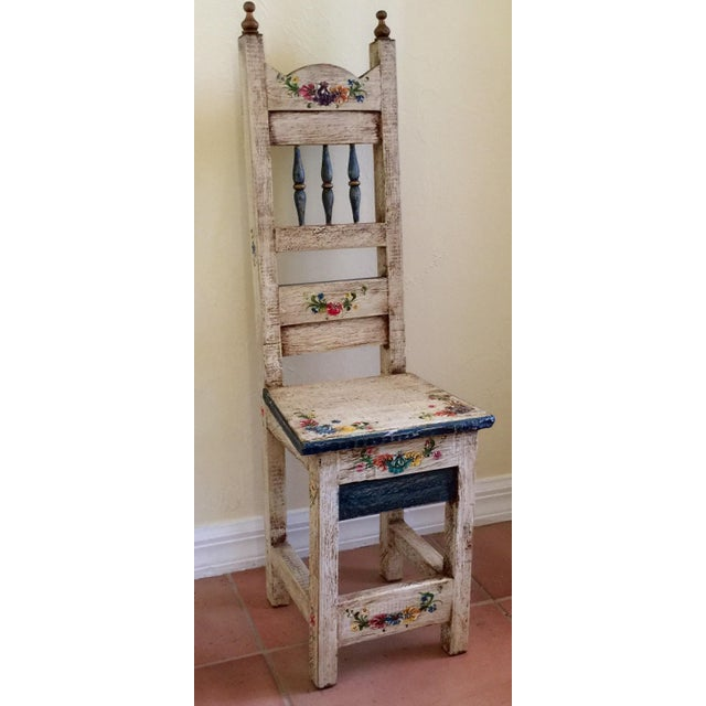 Vintage Hand Painted Child's Chair - Image 2 of 5