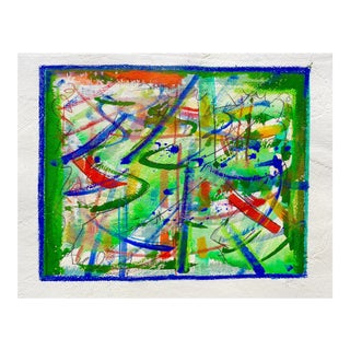 """""""Abstract in Color"""" Original Painting by Martha Holden"""