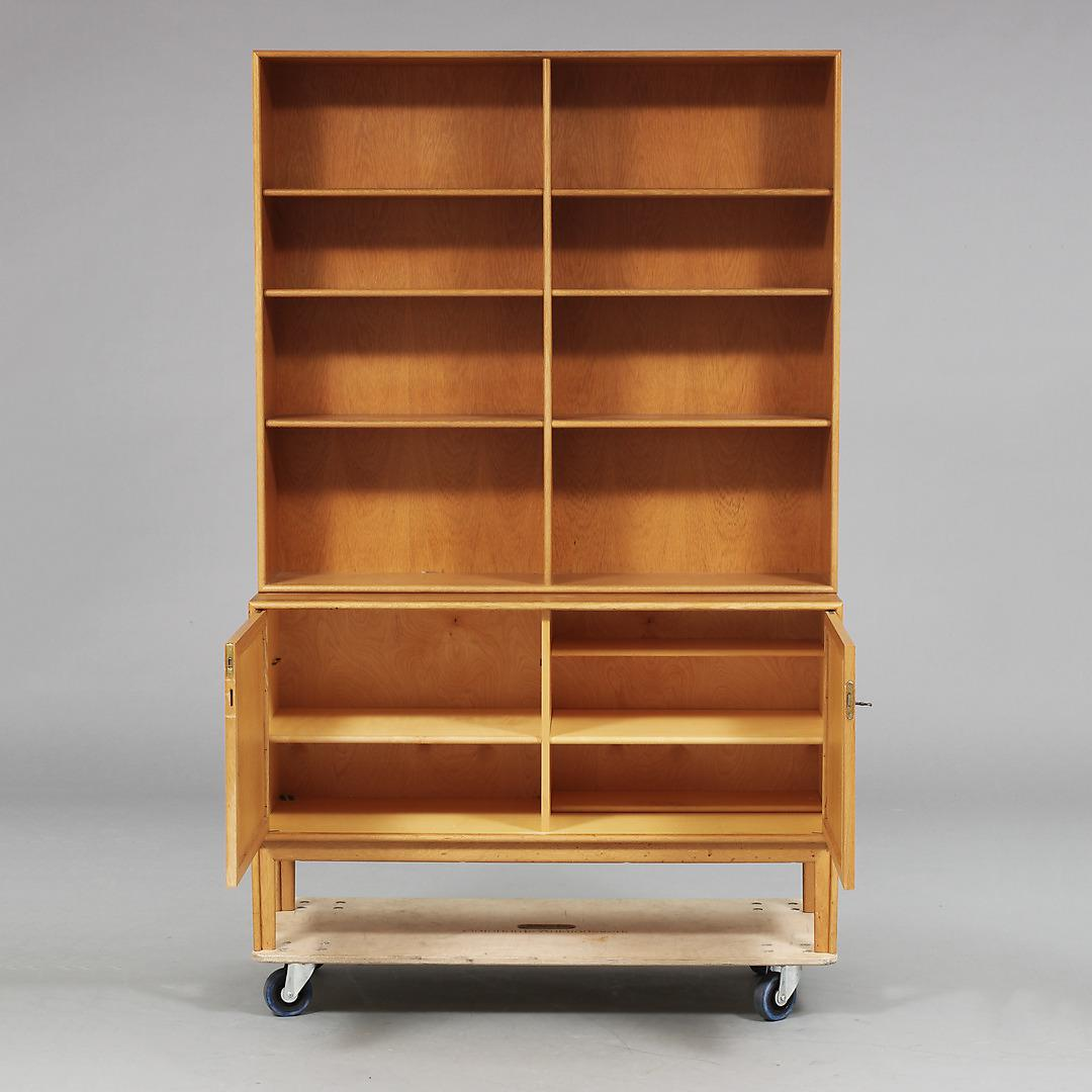 Swedish Mid Century Modern Book Cabinet By Alf Svensson   Image 3 Of 6