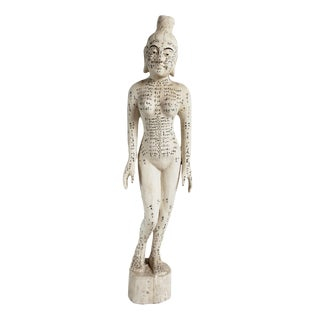 Large Chinese Acupuncture Female Statue