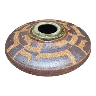 Vintage Modernist Bud Vase Studio Pottery