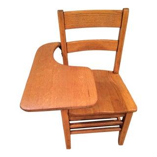 Antique School Desk & Chair