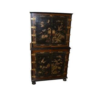 19th Century English Silver Cabinet