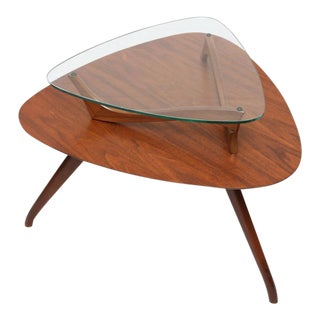 1960s American Vladimir Kagan Style Side Table