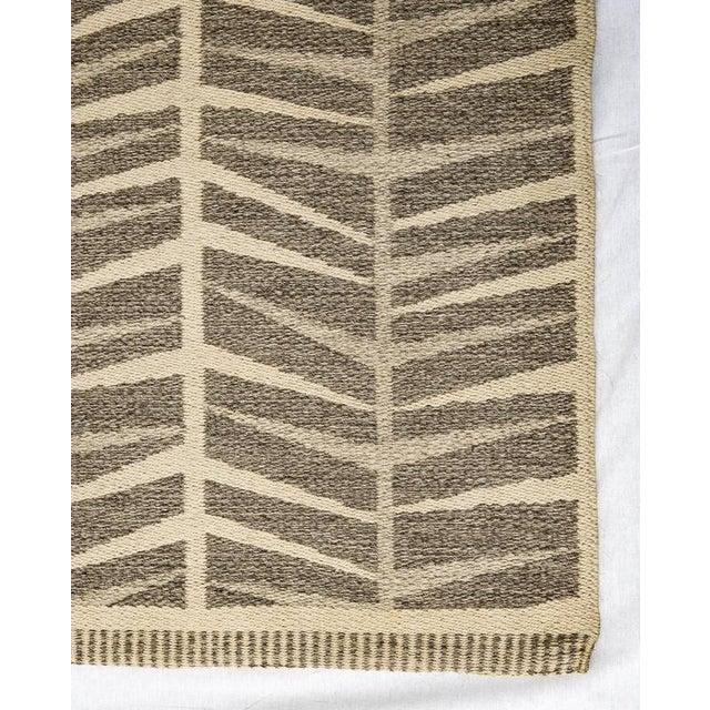 Vintage Ingrid Dessau Flat-Weave Swedish Carpet - Image 4 of 5