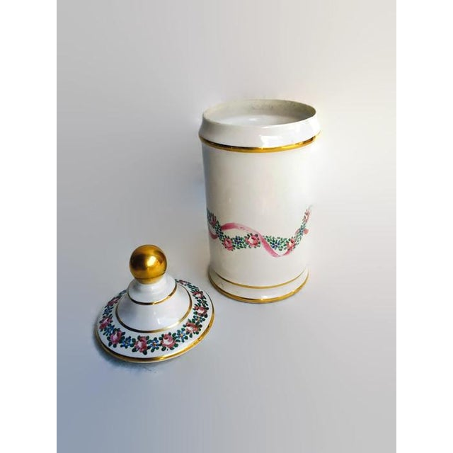 Vintage Apothecary Ceramic Opium Canister/Jar - Image 3 of 7