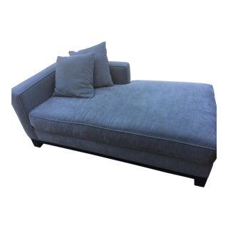 Light Gray Chaise & Pillows