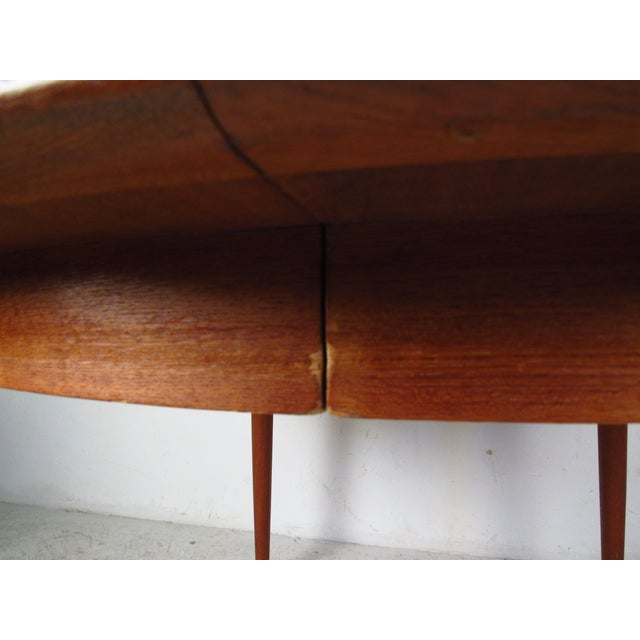 Mid-Century Teak Conference Table & 14 Eric Buck Dining Chairs - Image 10 of 10