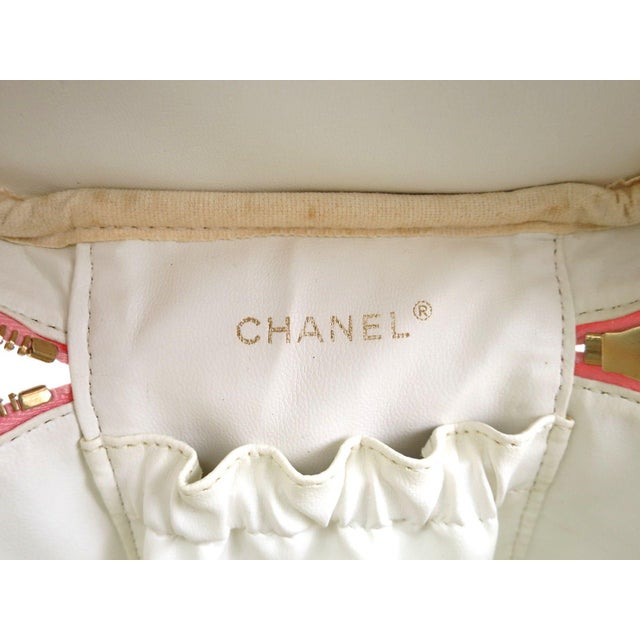 Image of Chanel Caviar Skin Vanity Bag