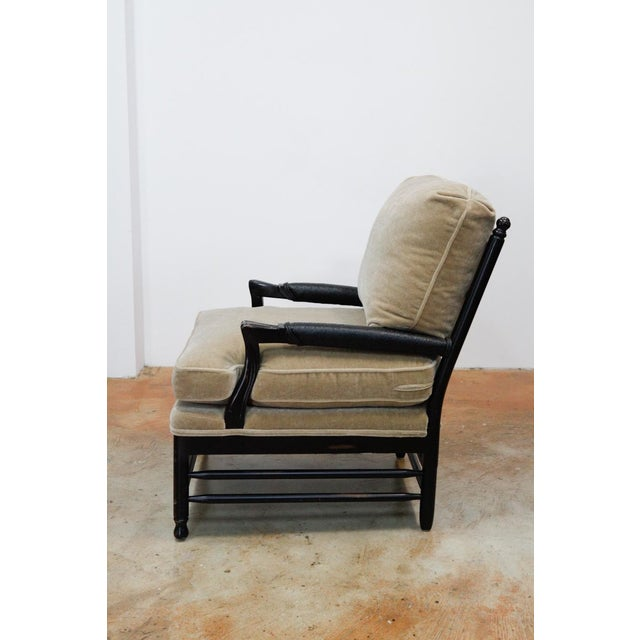 Image of Transitional Mohair Side Chair