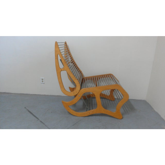 Image of Mid-Century Modern Abstract Chair