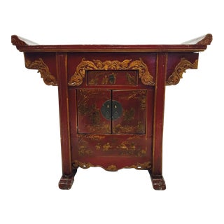 Vintage Asian Altar Table
