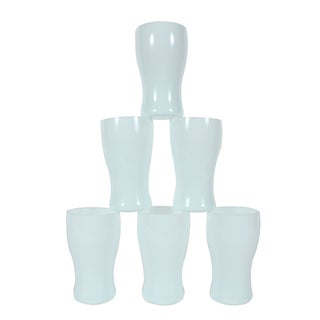 St. Lambert Milk Glass Goblets - Set of 6