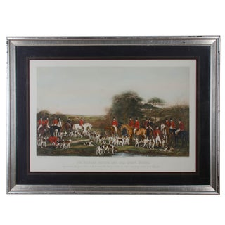 English Hunt Engraving F. Bromley