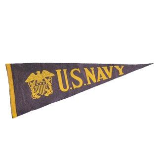U.S. Navy Felted Pennant