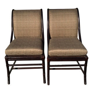 McGuire Furniture Company Dining Chairs - A Pair