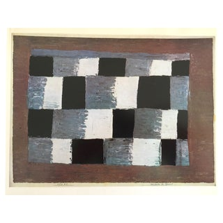 """""""Tempo of Three Quartered"""" Vintage 1967 Paul Klee Lithograph Print"""