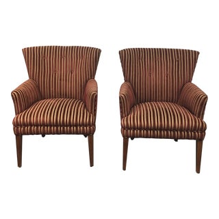 Ethan Allen Mid-Century Arm Chairs- A Pair