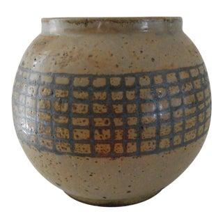 Mid-Century Globe Vase
