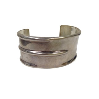 Sterling Silver Mexico Modernist Bracelet