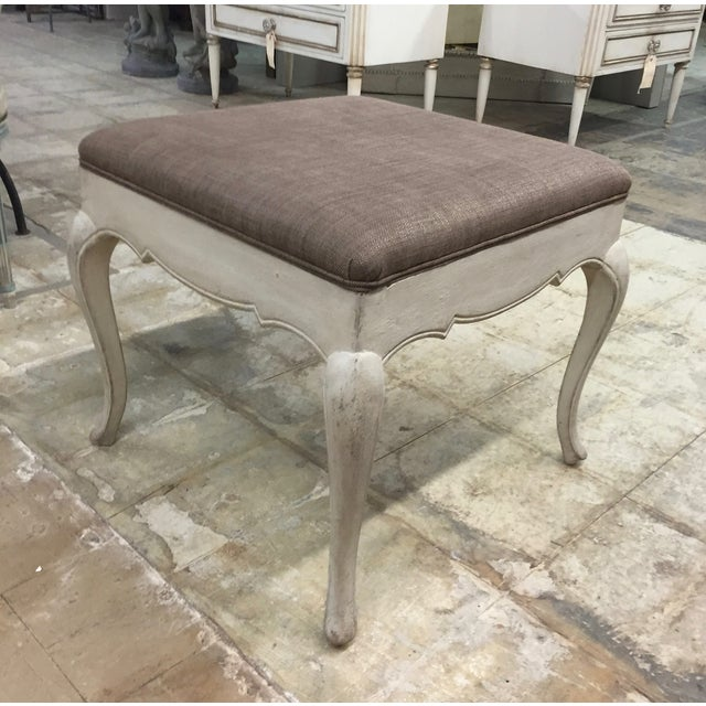 Antique French Provincial Bench - Image 2 of 3
