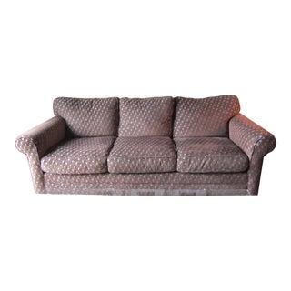 Chenille Basketweave Sofa, Loveseat & Ottoman