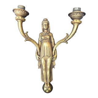 Egyptian Goddess Wall Sconce