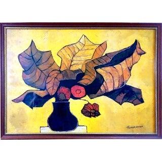 "Oswaldo Guayasamin ""Flores Secas"" Lithograph"